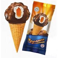 Мороженое Главхолод Хрустаччо с карамелью 80г