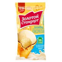Мороженое Инмарко Золотой стандарт Пломбир 86г ваф. стакан