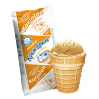 Мороженое Карелии крем-брюле в ваф/ст. 80г