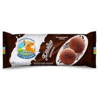 Мороженое Коровка из Кореновки Полено шоколад 400г