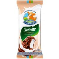 Мороженое Коровка из Кореновки эскимо пломбир ванильный с фундуком 70г