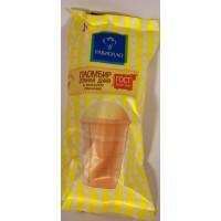 Мороженое Равиолло пломбир сочная дыня в вафельном стаканчике 70г