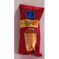 Мороженое Равиолло пломбир шоколадный в вафельном стаканчике 70г