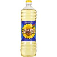Масло Золотая семечка подсолнечное рафинированное 1л