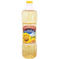 Масло Аннинское подсолнечное рафинированное 0,9л соц пакет