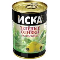 Оливки Иска зеленые б/к 300мл