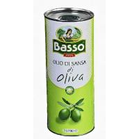 Масло Бассо оливковое рафинированное 1л ж/б