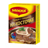 Бульон Магги говяжий на косточке 9г*8шт 72г