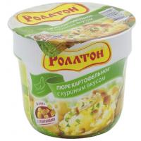 Пюре картофельное Роллтон с куриным вкусом 40г