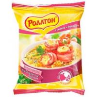 Вермишель б/п Роллтон со вкусом сыра и бекона 60г