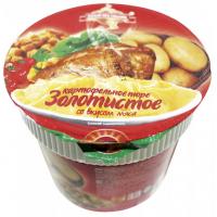 Пюре картофельное Золотистое со вкусом мяса 40г