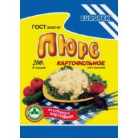 Пюре картофельное Европек 400г