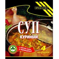 Суп Европек куриный 75г