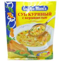 Суп Галина Бланка куриный с вермишелью 62г