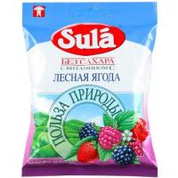 Леденцы Зула лесная ягода 60г