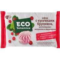 Зефир Эко ботаника с кусочками брусники и витаминами 250г