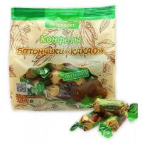 Конфеты Петродиет ТД Батончики Какао на фруктозе со стевией 200г