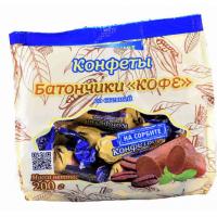 Конфеты Петродиет ТД Батончики Кофе на сорбите со стевией 200г