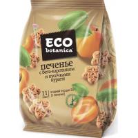 Печенье Эко ботаника сахарное с бета-каротином и кусочками кураги 200г