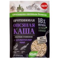 Каша Бионова протеиновая овсяная с семенами чиа 40г
