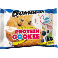 Печенье Бомббар смородина-черника протеин 40г