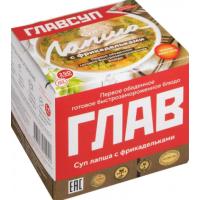 Суп Главсуп лапша с фрикадельками 250г