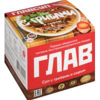 Суп Главсуп с грибами и сыром 250г