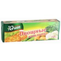 Котлеты Морозко Грин овощные 450г