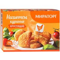 Наггетсы Мираторг куриные хрустящие 300г