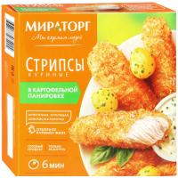 Стрипсы Мираторг куриные в картофельной панировке 340г