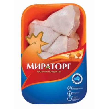 Голень Мираторг цыпленка с кожей 750г