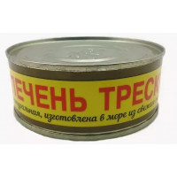 Печень Атлантрыбфлот трески натуральная 230г