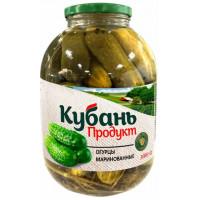 Огурцы Кубань-продукт маринованные 3000г