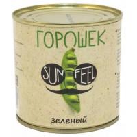 Горошек Санфил зеленый из мозговых сортов ж/б 400г