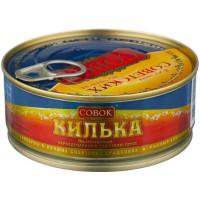 Килька Совок балтийская в томатном соусе 230г