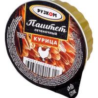 Паштет Рузком Курица печеночный 100г лам