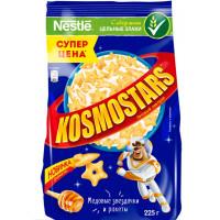 Завтрак сухой Космостарс хрустящие медовые звёздочки и луны 225г пакет