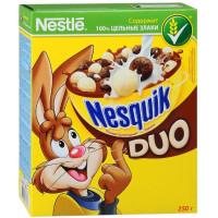 Завтрак сухой Несквик дуо молочно-шоколадный 250г