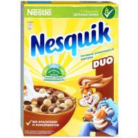 Завтрак сухой Несквик дуо шоколадный 375г