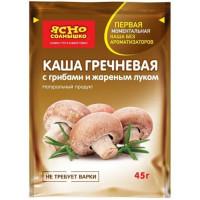 Каша Ясно солнышко гречневая с грибами и жаренным луком 45г