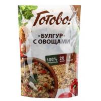 Булгур Ярмарка Готово! с овощами 250г