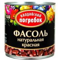Фасоль Валдайский погребок красная 400г ж/б