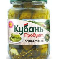 Огурцы Кубань-продукт соленые 680г