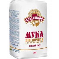 Мука Аладушкин пшеничная в/с 2кг