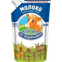 Молоко Коровка из Кореновки цельное сгущеное с сахаром 270г дойпак