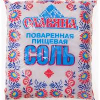 Соль Славяна пищевая помол №1 1кг кап/пак