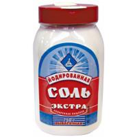 Соль Экстра йодированная выварочная 750г