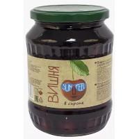 Вишня Санфил в сиропе с косточкой 700г ст/б