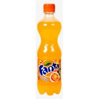 Фанта вкус апельсина 0,5л