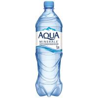 Вода Аква Минерале питьевая негаз 1л